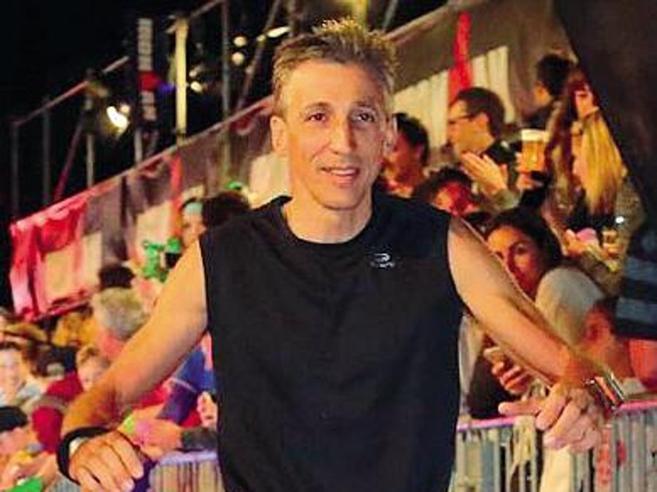 Travolto dalla   slavina sul Bianco Roberto oggi è diventato Ironman