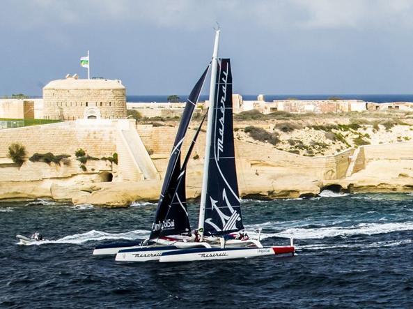 Nautica, Rolex Middle Sea Race: Maserati Multi70 ha raggiunto Phaedo3