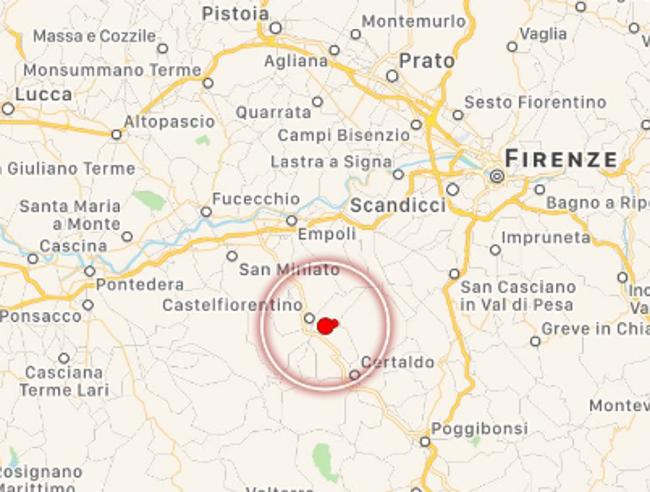 Firenze, scossa di terremoto di 3.9Paura, nessun ferito. Ritardi ai treni