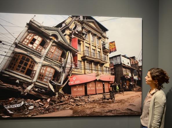 Il sisma in Nepal (foto: Luca Bergamin)