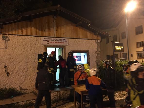 Trema il Centro Italia, l'ultima forte scossa alle 23,42