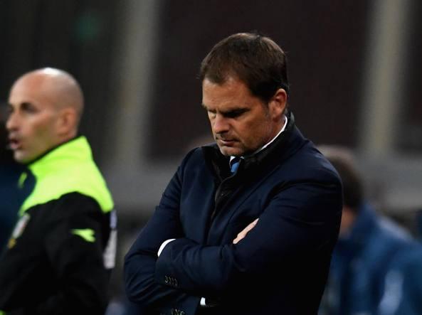 Inter: è ufficiale, esonerato De Boer