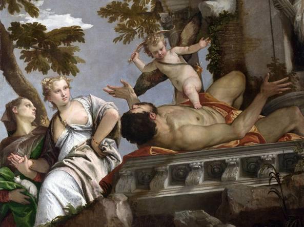 «Il disinganno», un dipinto dell'artista Paolo Caliari, detto il Veronese (1528-1588), che fa parte del ciclo «Le allegorie dell'amore» (1570 circa)