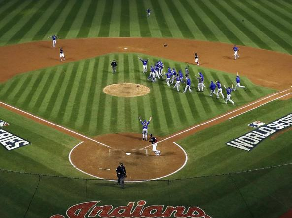 Maledizione finita, i Chicago Cubs vincono le World Series