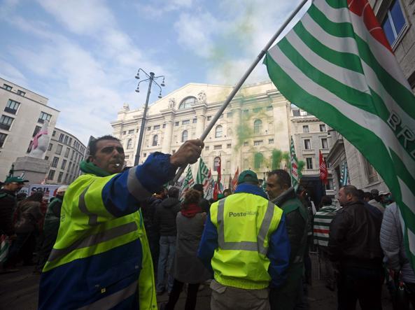 Poste, domani uffici chiusi per sciopero