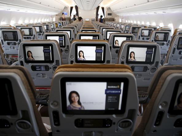 Voli dall economy alla prima classe ecco la top ten delle for Ba cabina di prima classe