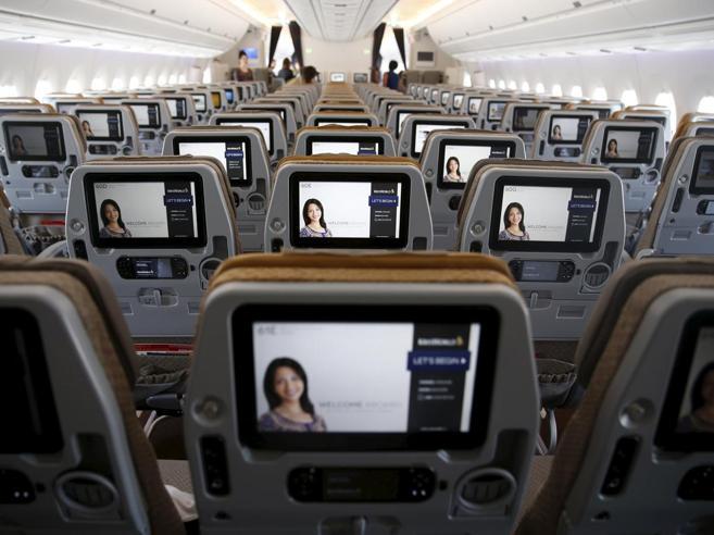 Dall'economy alla prima classe: le migliori compagnie aeree Il grafico interattivo