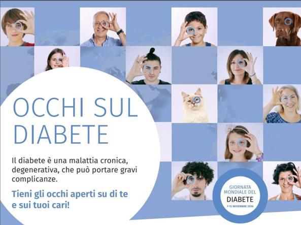 Il manifesto della Giornata mondiale del diabete