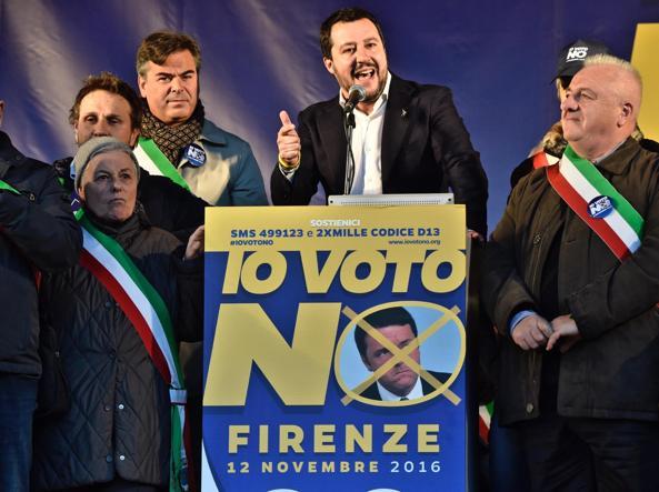 Salvini: io candidato premier? Se chiedono ci sono