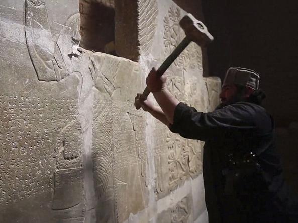 L'esercito iracheno strappa Nimrud all'Isis