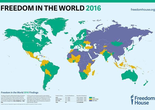 Censura online per due terzi della popolazione mondiale