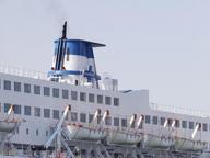 Cadavere di donna in sala macchine Giallo internazionale su nave Tirrenia