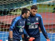 Gigi & Gigio: è l'abbraccio tra il presente e il futuro della Nazionale