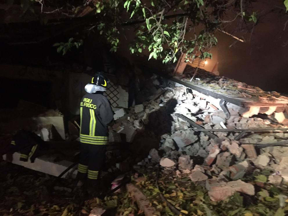 Notizie Esplosione Villa Magna Firenze