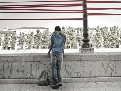 Foto di Mauro Fiorese, uno degli scatti del portfolio «Coppie»