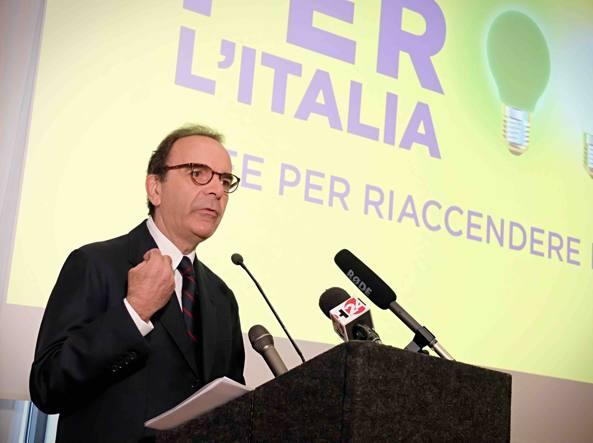 Parisi lancia 'Energie per l'Italia', alternativa a Renzi e Grillo