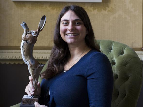 Giorgia Pallocca, ricercatrice italiana all'università di Costanza, tra i vincitori del Lush Prize 2016