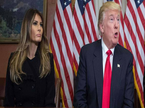 Melania Trump: i look della nuova First Lady USA