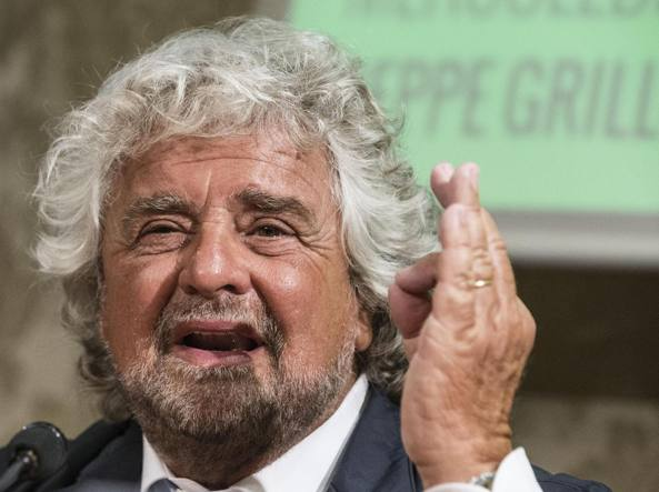 Referendum, Grillo: