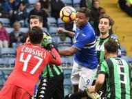 Sampdoria-Sassuolo 3-2:rimonta doriana grazie a 2 gol di Muriel