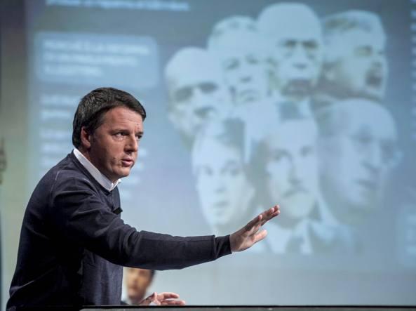 Il presidente del Consiglio Matteo Renzi (LaPresse)