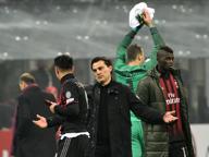 Milan-Inter, la sfida in panchina Montella: «Spiace ma sorridiamo» Pioli: «Ora l'obiettivo è crescere»