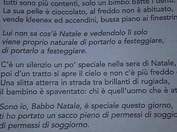 Salvini contro la canzone di Natale pro immigrati: