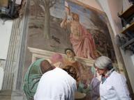 Resurrezione di Piero della Francesca L'affresco fu dipinto altrove