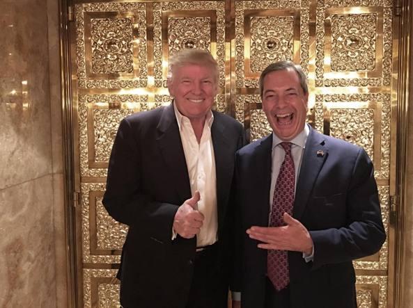 Usa 2016, Trump incontra Farage: su Twitter la foto sorridenti