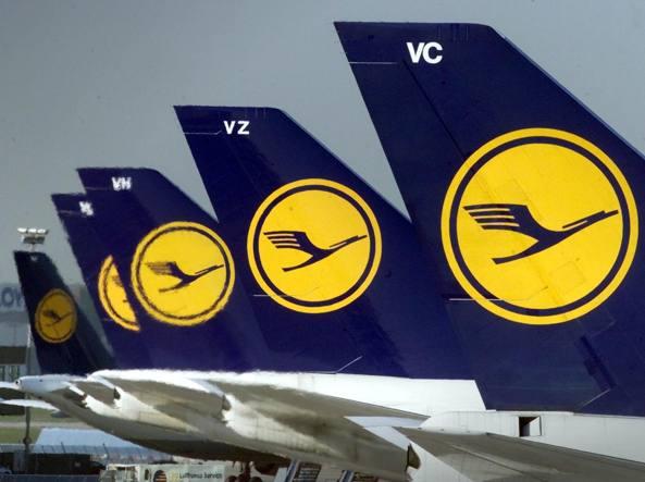 Sciopero Lufthansa: voli cancellati