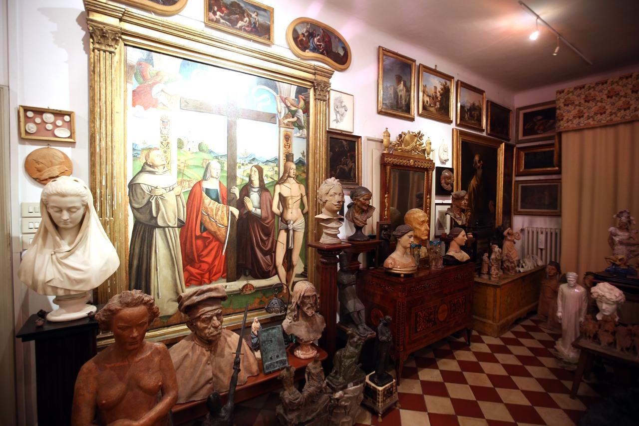 La casa museo di sgarbi a ro ferrarese for Corriere della sera casa