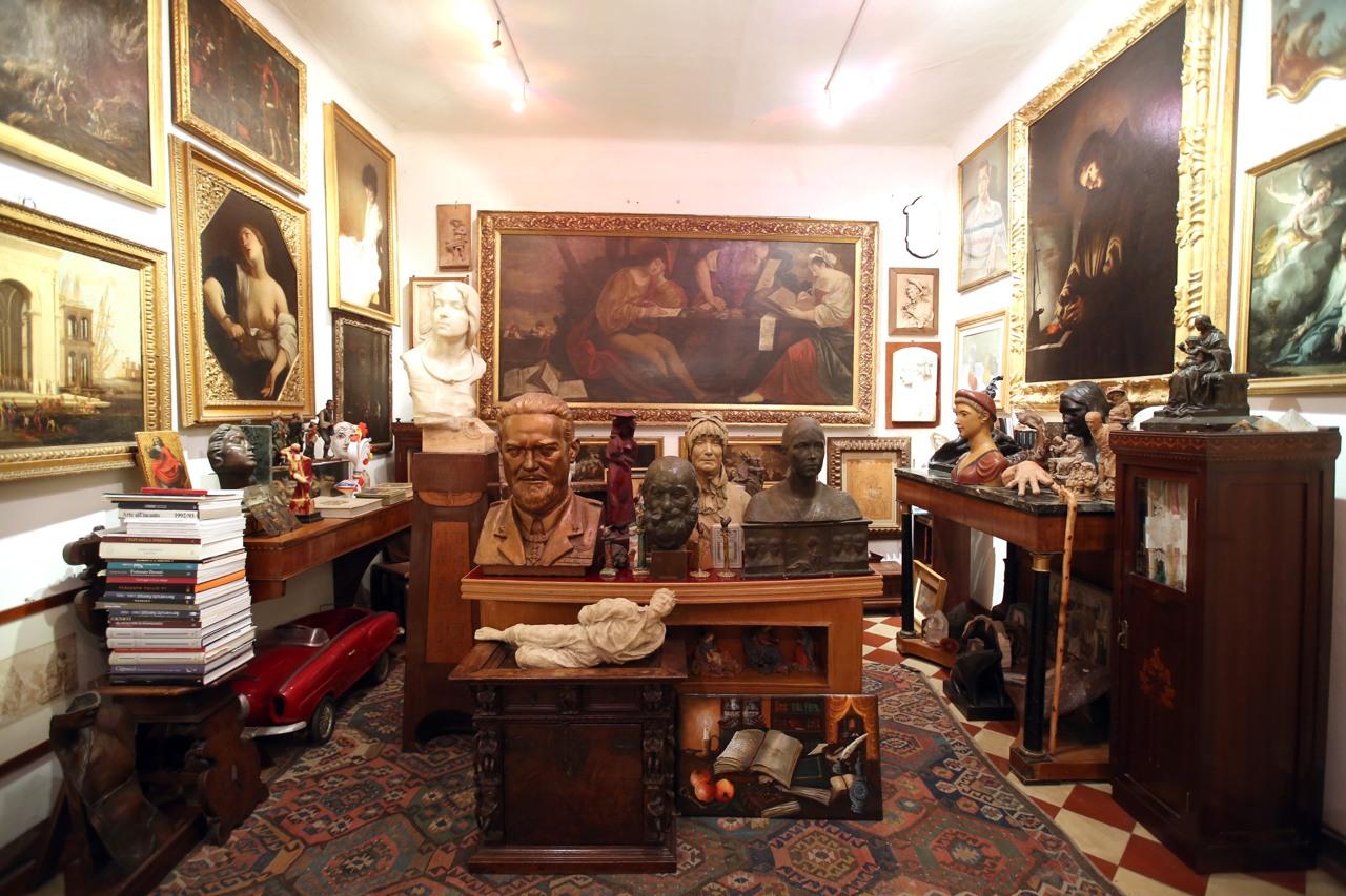 La casa museo di sgarbi a ro ferrarese for Corriere casa