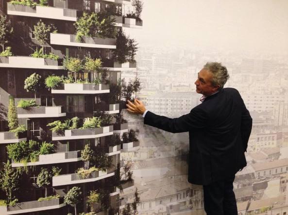 Stefano boeri riscopriamo il legno per mettere il paese for Bosco verticale architetto