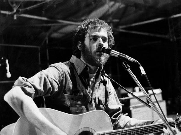 Francesco De Gregori in concerto nel 1976