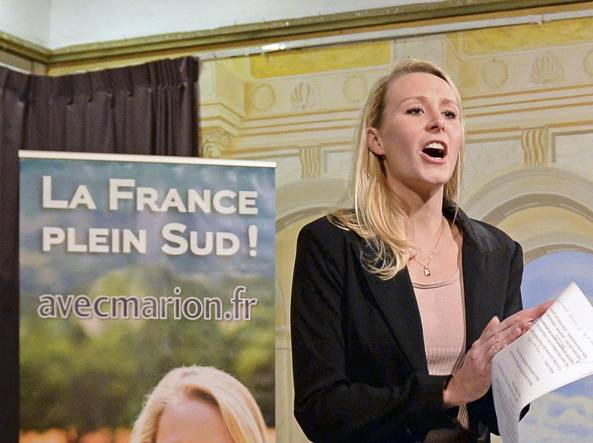 Marion Le Pen a Firenze per una nuova Europa