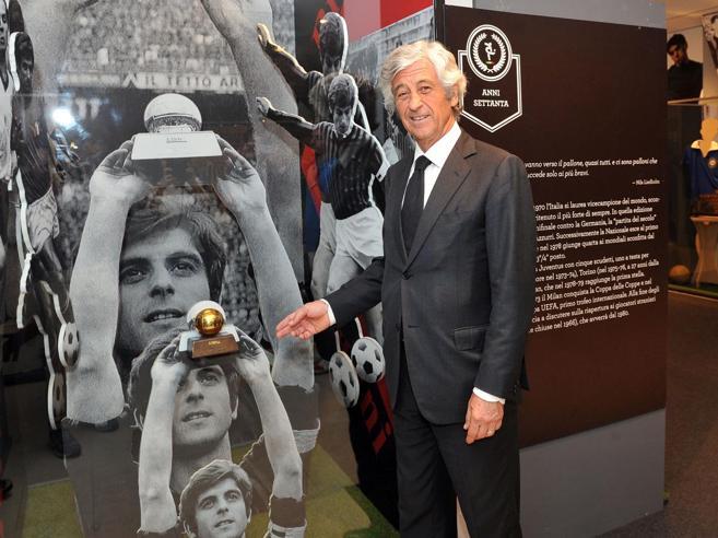Gianni Rivera: «Da ragazzo ero juventino e Gianni Brera  mi riportò in Nazionale» Foto