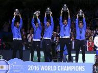L'eroe Del Potro e l'idolo Maradona La Coppa Davis è dell'Argentina