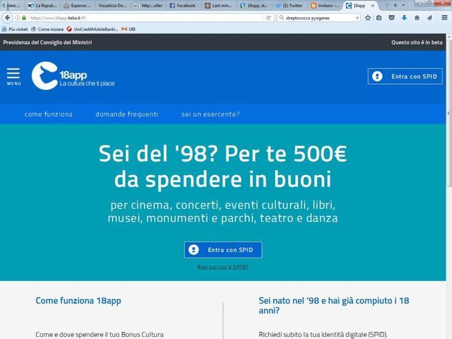 18enne hackera sito bonus 500 euroMa poi aiuta ad aggiustare il bug