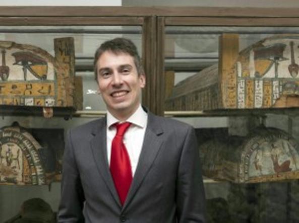 Christian Greco, 41 anni, direttore del Museo Egizio