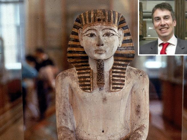 «Facevo le pulizie, oggi sono direttore del Museo Egizio»
