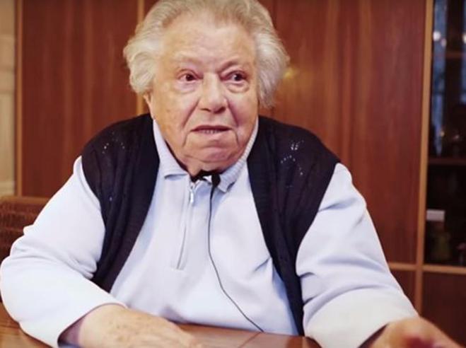 Il video della reduce di Auschwitz  «No alla destra, mi fa paura»