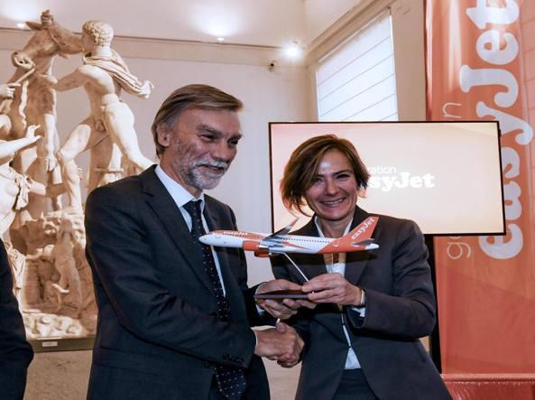 Easyjet punta sempre di più su Napoli: 9 nuove destinazioni in arrivo