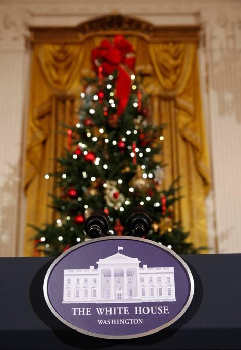 Ultimo natale alla casa bianca per gli obama michelle i for Room design method nfpa 13