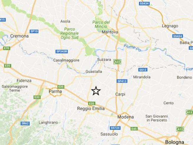 Trema di nuovo l'Emilia Scossa di magnitudo 3.7 Ieri 4.4 vicino L'Aquila -Ingv: «Nuova sequenza»