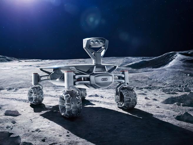 Rover Audi sulla Luna sulle tracce dei resti di Apollo 17