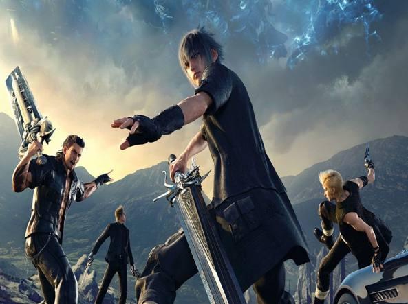 Final Fantasy XV svela la spada di Afrojack!