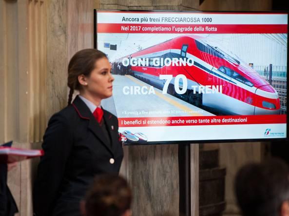 La presentazione del nuovo orario Trenitalia a Milano