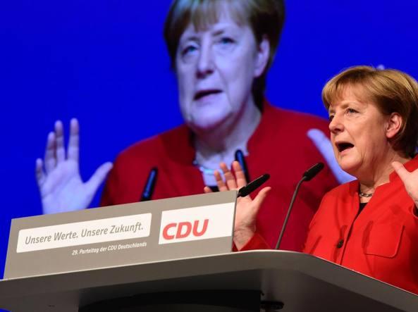 Velo integrale, Merkel: