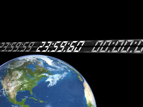 Il secondo intercalare o leap second (Nasa)