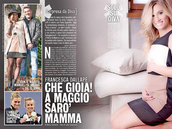 Francesca Dallapè, dal trampolino con Tania Cagnotto alla dolce attesa: «Sono incinta»